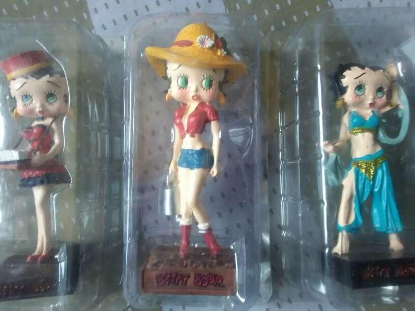 Imagen se vende 3 Betty boop de colección