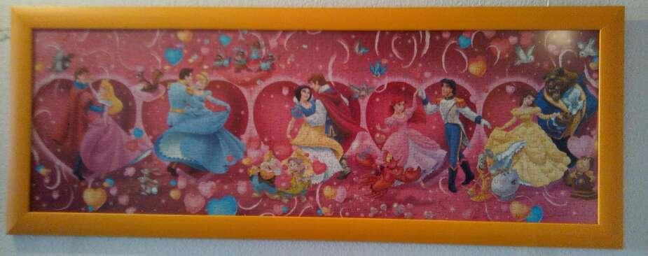 Imagen Cuadro puzzle Disney