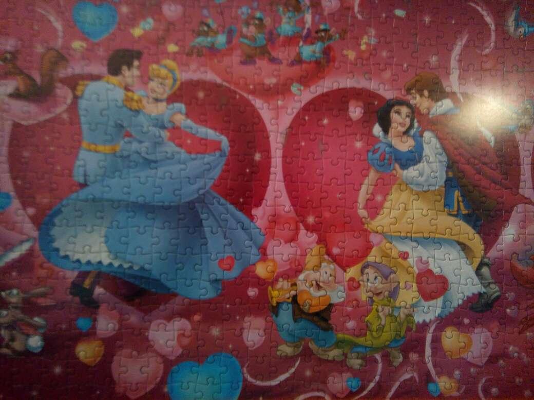 Imagen producto Cuadro puzzle Disney 4