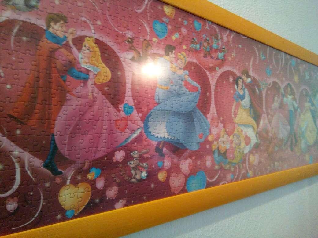 Imagen producto Cuadro puzzle Disney 3