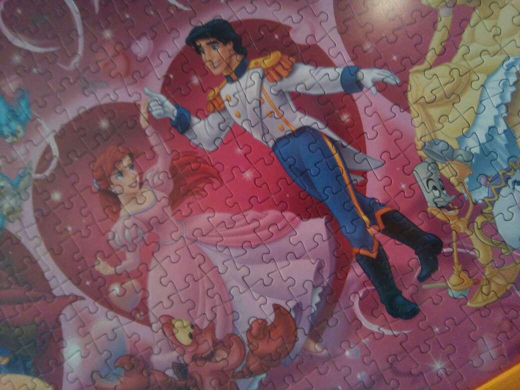Imagen producto Cuadro puzzle Disney 2