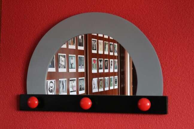 Imagen Percha con espejo