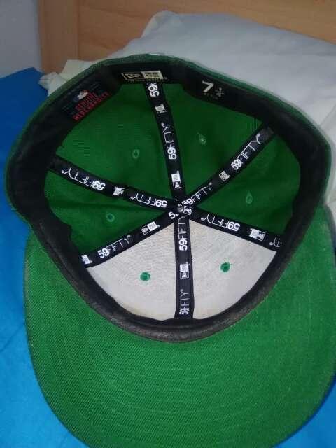 Imagen producto New Era New York Yankees Gorra Básica Verde 4