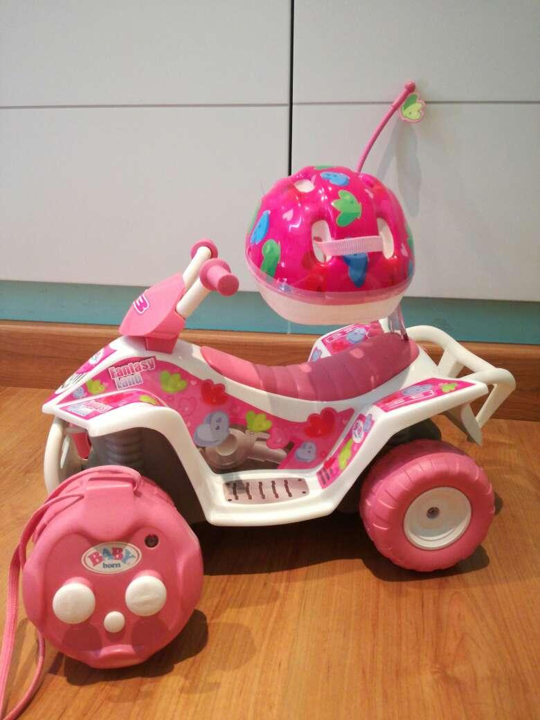 Imagen moto teledirigida baby born