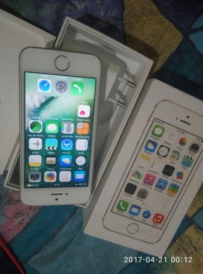 Imagen iphone 5 s sensor de huella