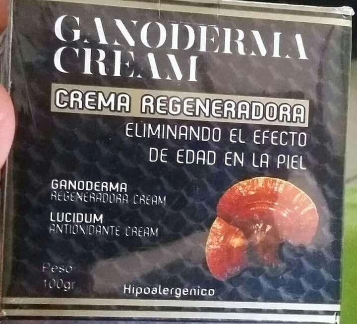 Imagen crema ganoderma