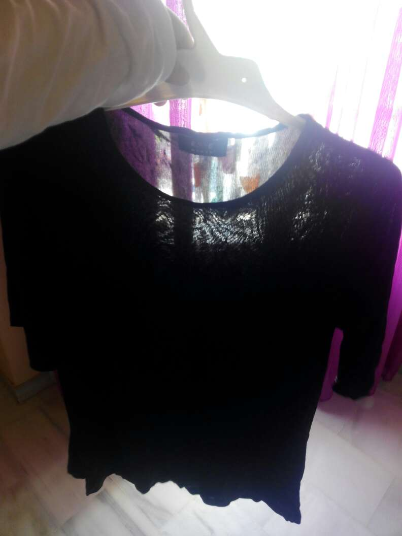 Imagen camiseta negra
