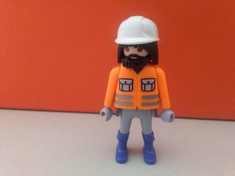 Imagen playmobil obrero