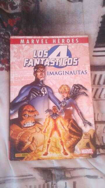 Imagen Los 4 Fantásticos Imaginautas Marvel Héroes