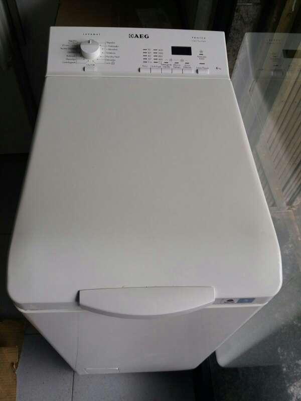 Imagen lavadora marca AEG de 6kg