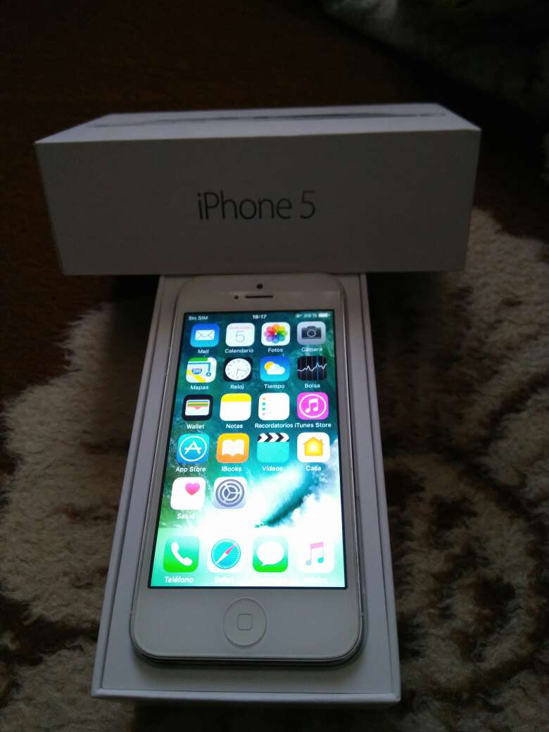 Imagen iPhone 5 16gb impoluto