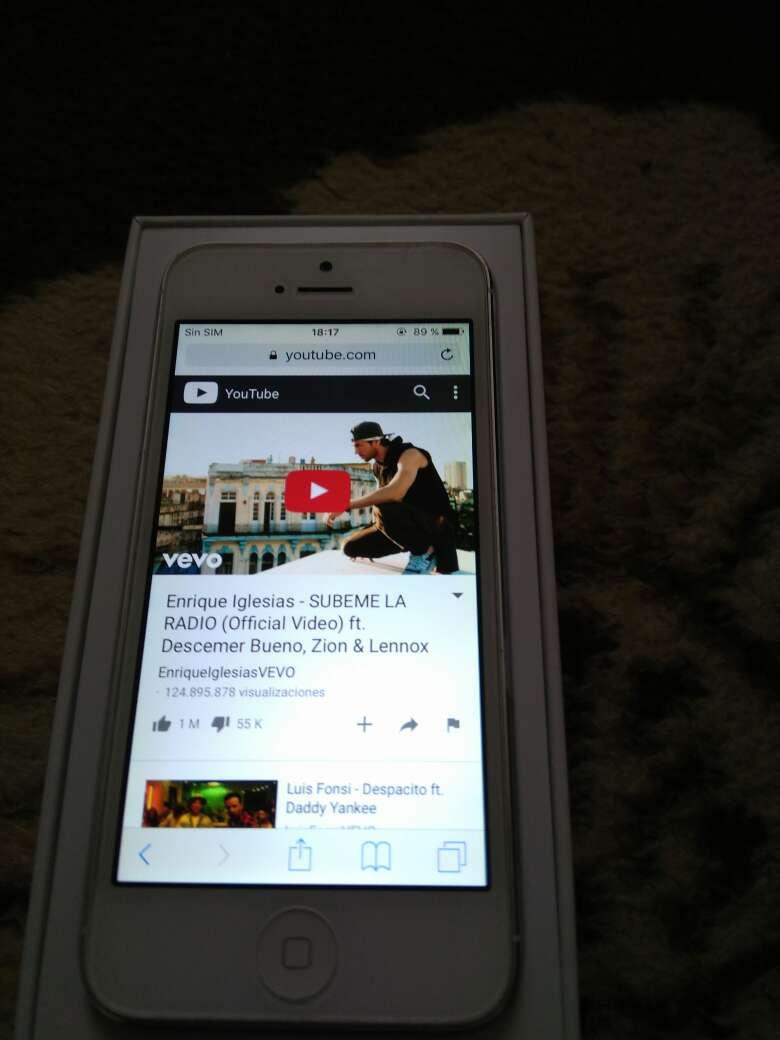 Imagen producto IPhone 5 16gb impoluto 2