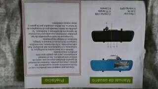 Imagen producto Espejo retrovisor coche con cameras, GPS, wifi, bluetooth 4