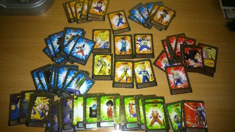 Imagen producto Imanes,cartas magic dragon ball z y bakugan 3