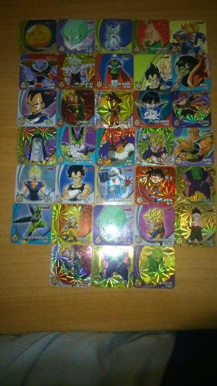 Imagen producto Imanes,cartas magic dragon ball z y bakugan 4