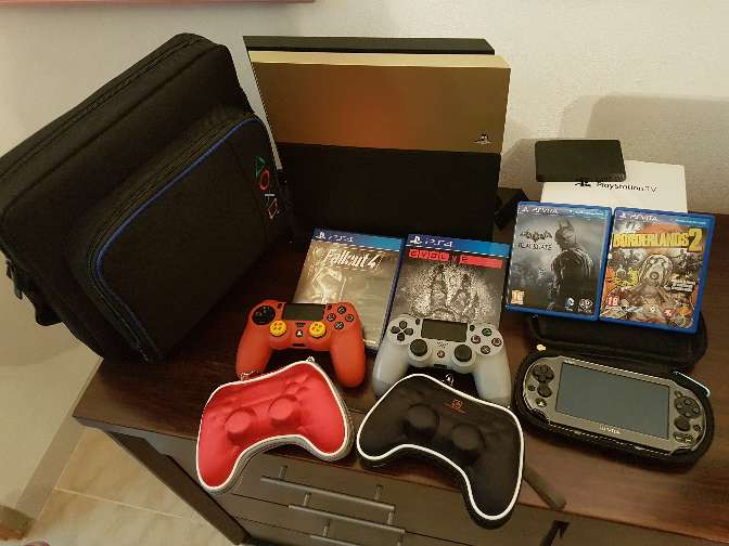 Imagen producto Ps4 kit completo 1