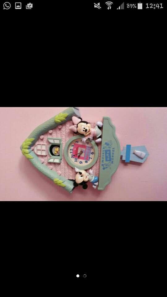 Imagen Reloj Mickey I minnie