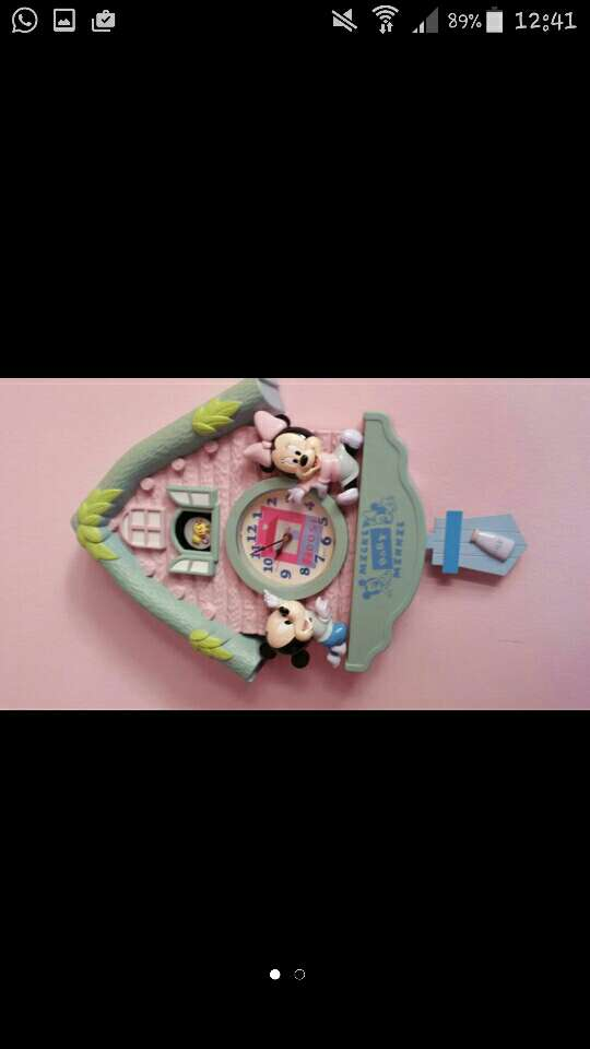 Imagen producto Reloj Mickey I minnie 1