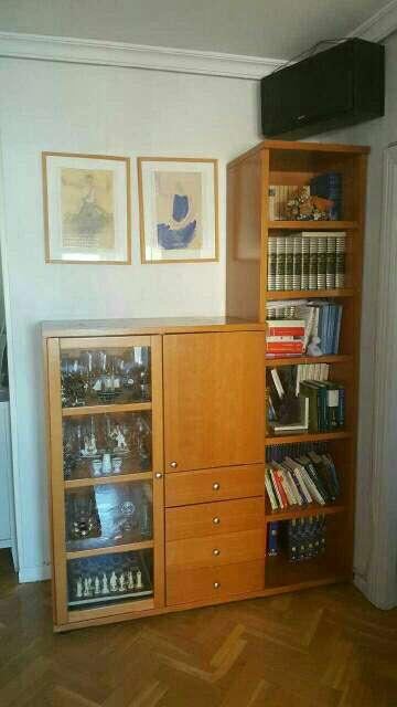 Imagen producto Mueble madera maciza de cerezo. Lo vendo por cambio de mobiliario  2