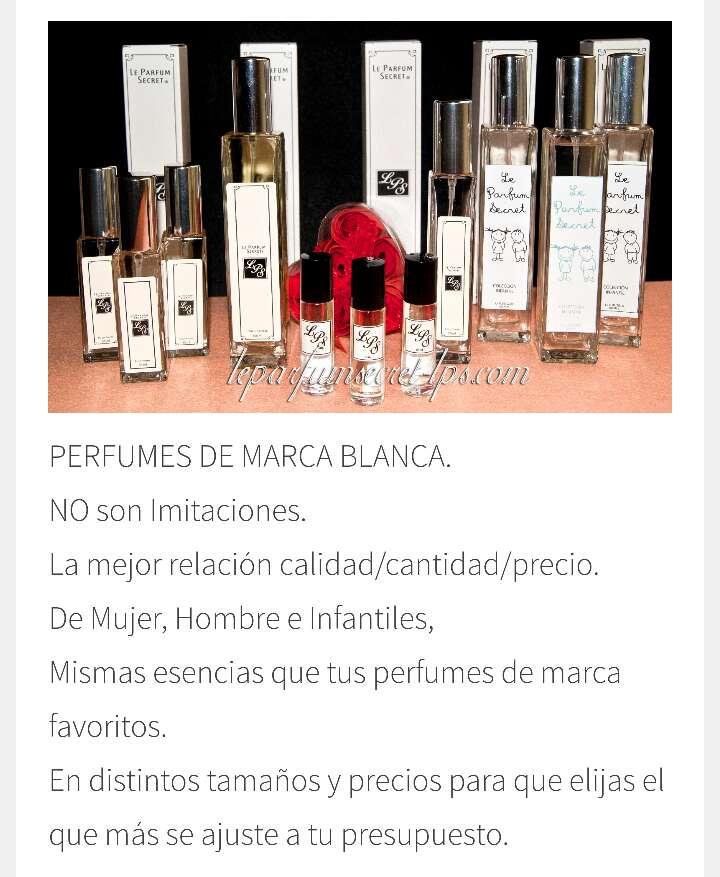 Imagen Perfumes Low Cost no imitación