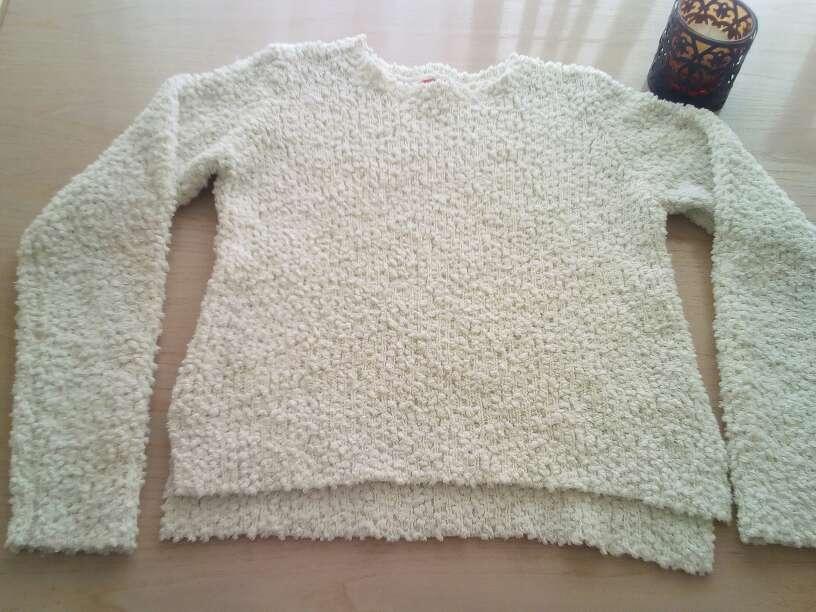 Imagen Jersey de lana blanco talla S