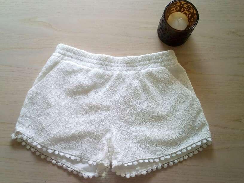 Imagen Pantalones cortos encaje