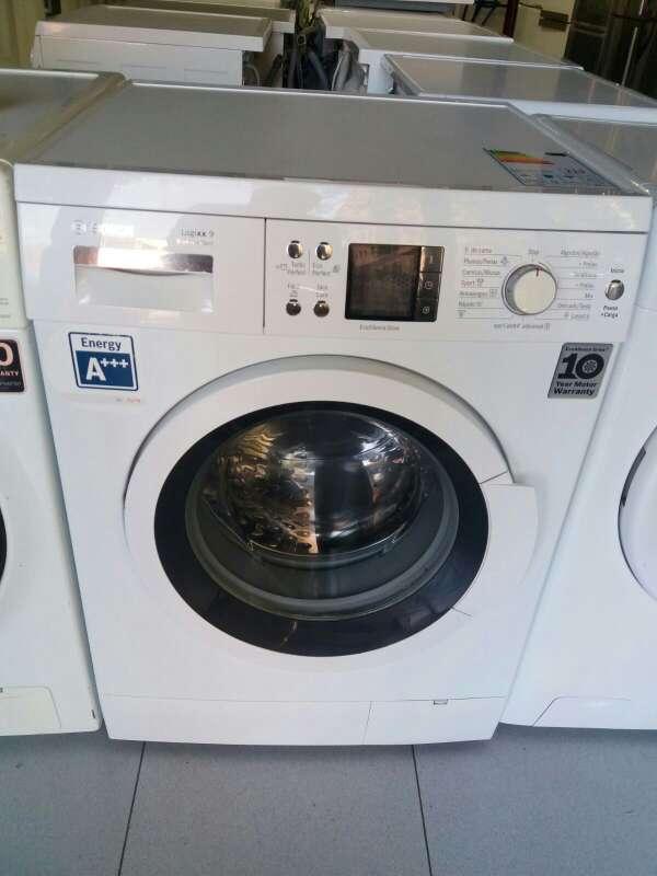Imagen lavadora marca Bosch de 9kg clase A + + +