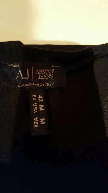 Imagen camiseta armani