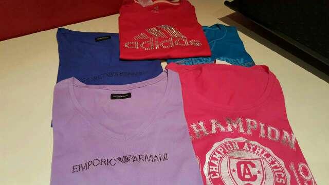 Imagen 5 camisetas diferentes