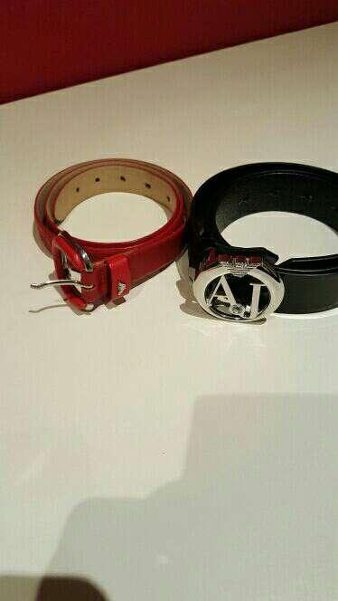 Imagen cinturones armani