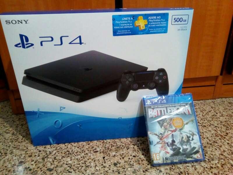 Imagen PS4 Nueva + juego