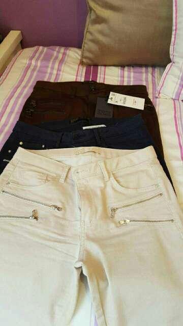 Imagen 3 pares de pantalones zara