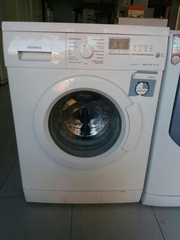 Imagen lavadora marca Siemens