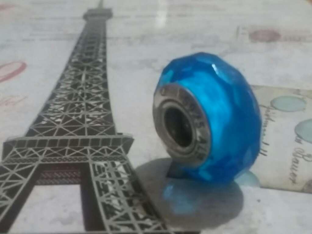 Imagen Charms (Cristal de murano Azul)