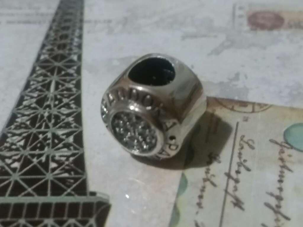 Imagen producto Charms (Redondo con circonitas)  2