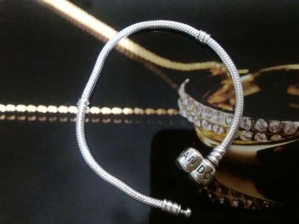 Imagen producto Pulsera de plata de ley abalorios  2