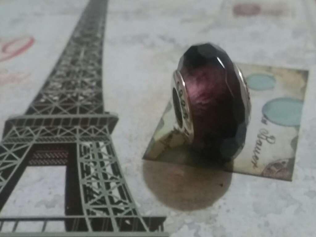 Imagen Charms (Cristal de murano Púrpura)