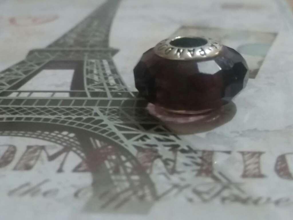 Imagen producto Charms (Cristal de murano Púrpura)  2