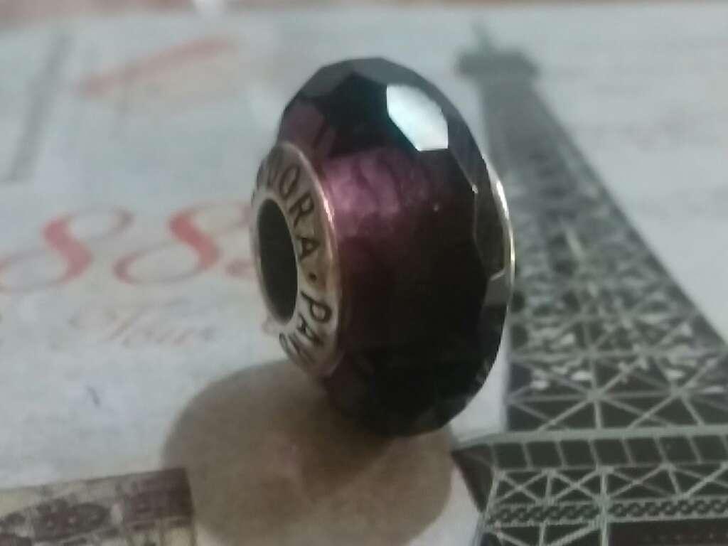 Imagen producto Charms (Cristal de murano Púrpura)  3
