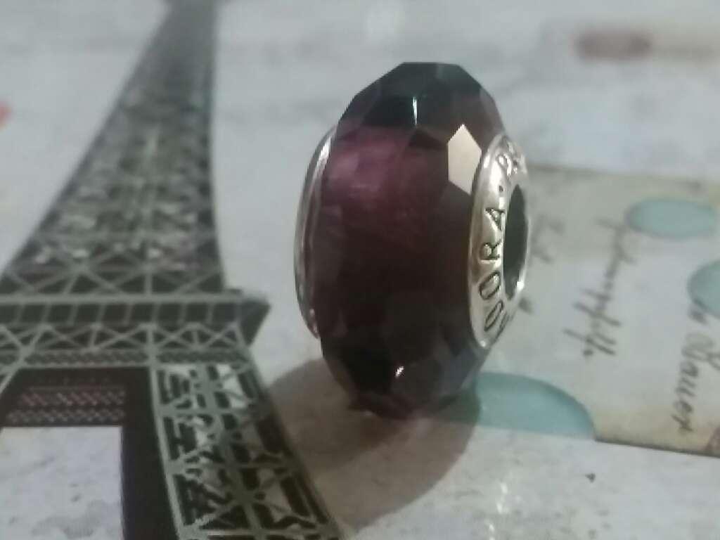 Imagen producto Charms (Cristal de murano Púrpura)  4