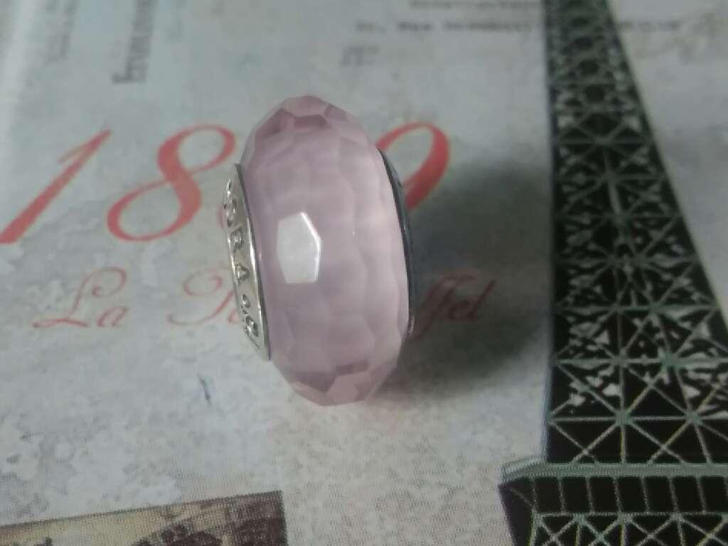 Imagen producto Charms (Cristal de murano Rosa)  2
