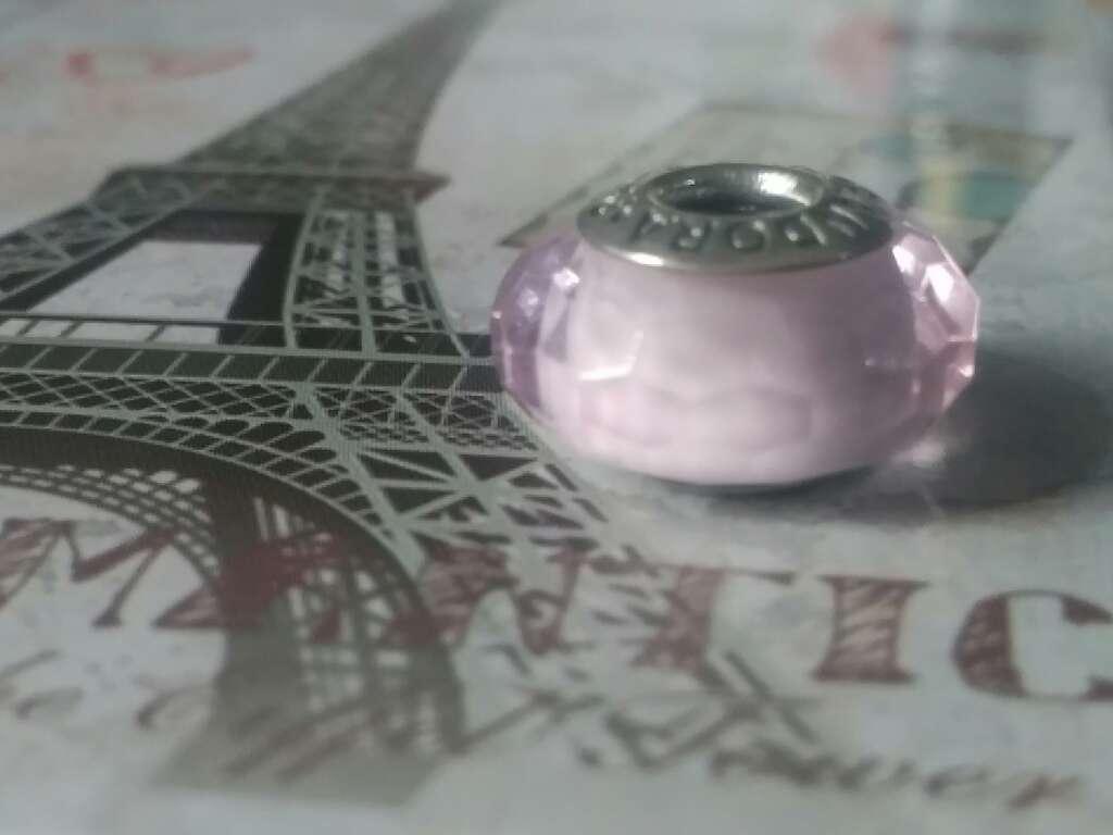 Imagen Charms (Cristal de murano Rosa)