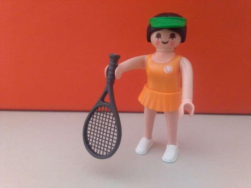 Imagen playmobil tenista