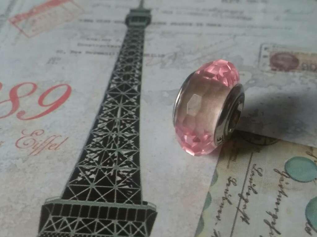 Imagen Charms (Cristal de Murano Rosa Claro)
