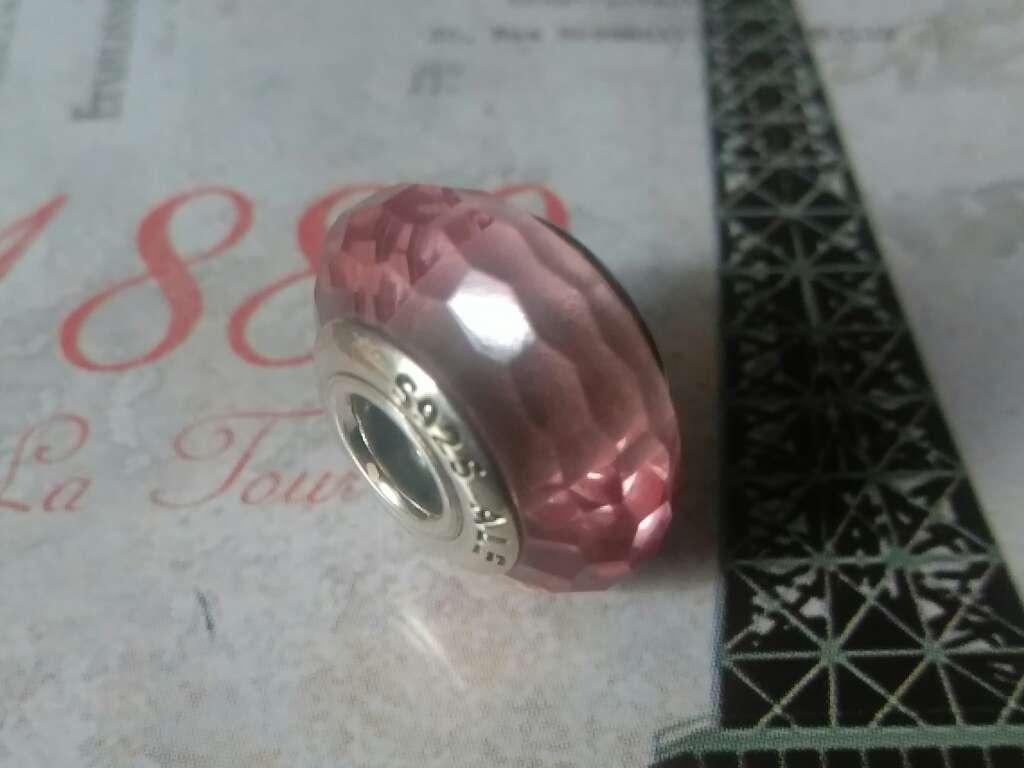 Imagen producto Charms (Cristal de Murano Rosa Claro)  3