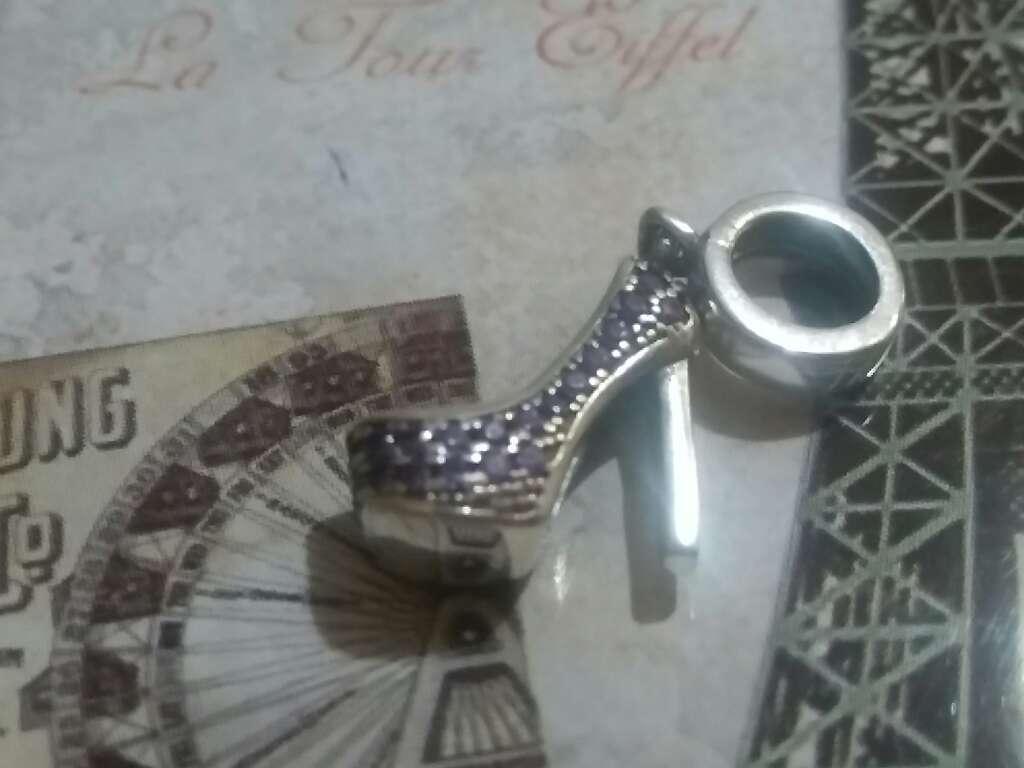 Imagen producto Charms (Zapato de Tacon Púrpura)  2