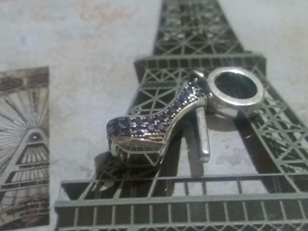 Imagen producto Charms (Zapato de Tacon Púrpura)  3