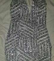 Imagen producto Vestido de fiesta gris 2