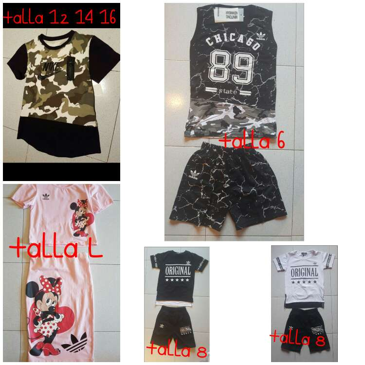 Imagen producto Variedad en ropa deportiva 1