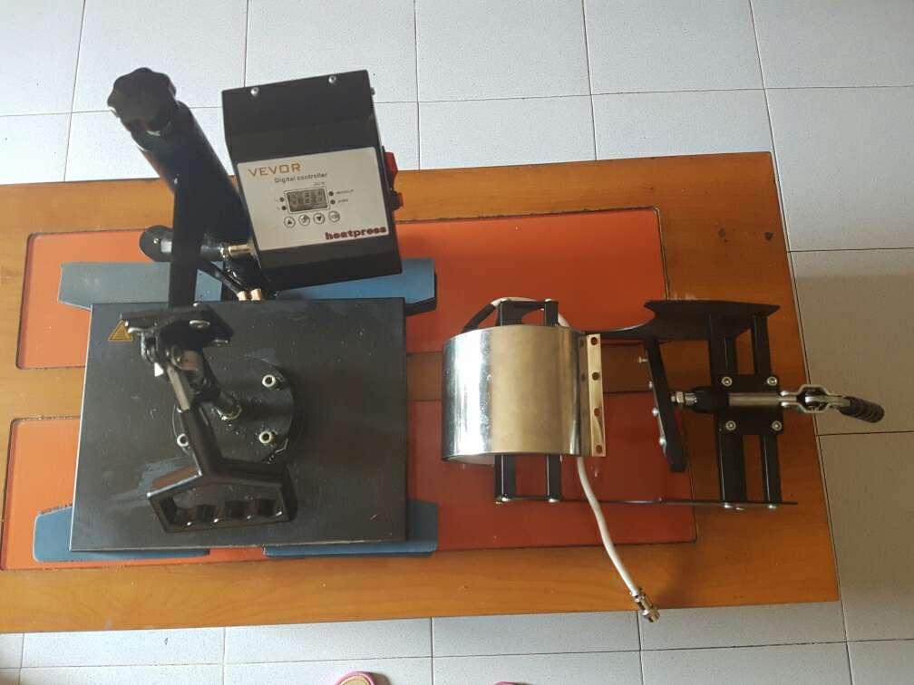 Imagen producto Maquina transfer zapatillas y ropa 38×38 . 3
